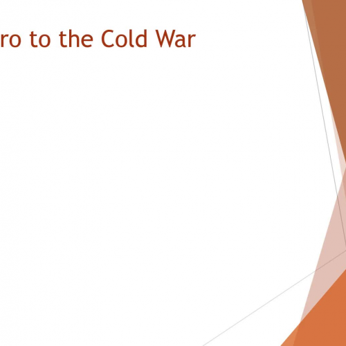 WHII.5.1 - Start of the Cold War