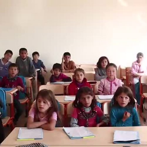 Education in a Refugee Camp in Turkey