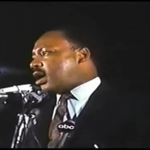 Martin Luther King, Jr's Last Speech - I've Been To The Mountain Top