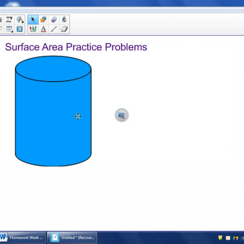 4sw Week 1 PreAP Surface Area Examples
