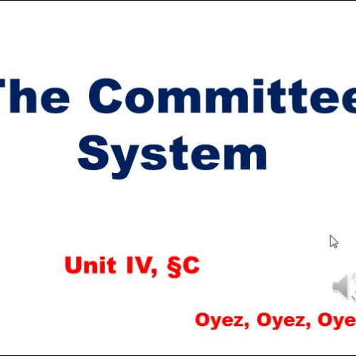 4C: The Committee System