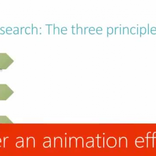 Trigger an animation effect
