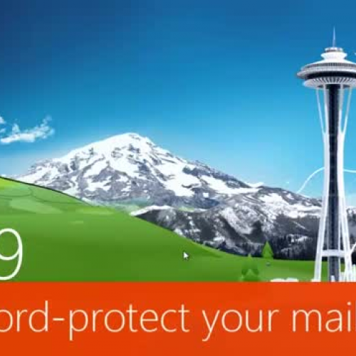 Password protect your mailbox