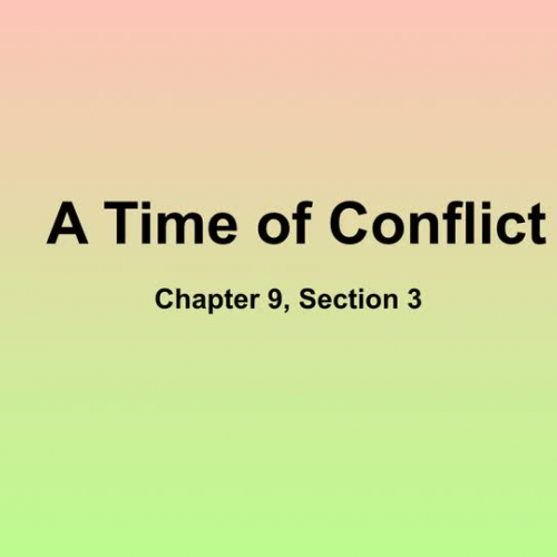 Lecture Notes Chapter 9 Section 3