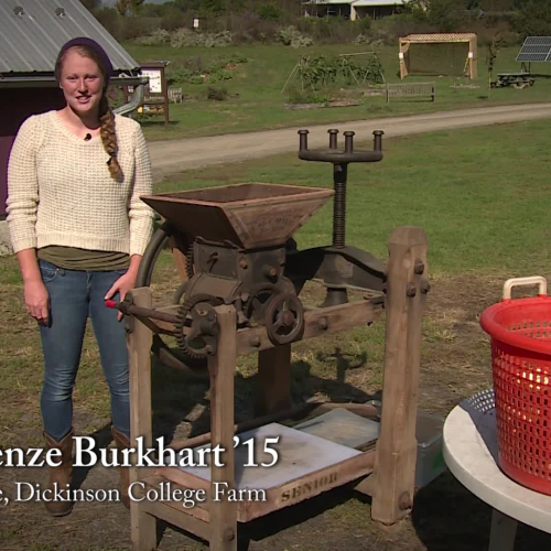 How to Operate an Antique Apple Cider Press