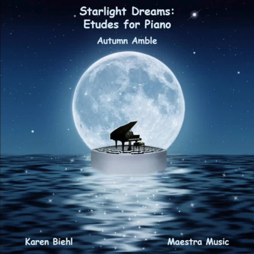 Starlight Dreams: Etudes for Piano - Autumn Amble