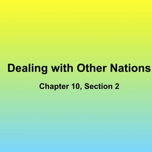 Lecture Notes Chapter 10 Section 2