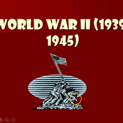 World History WWII Lecture part 1
