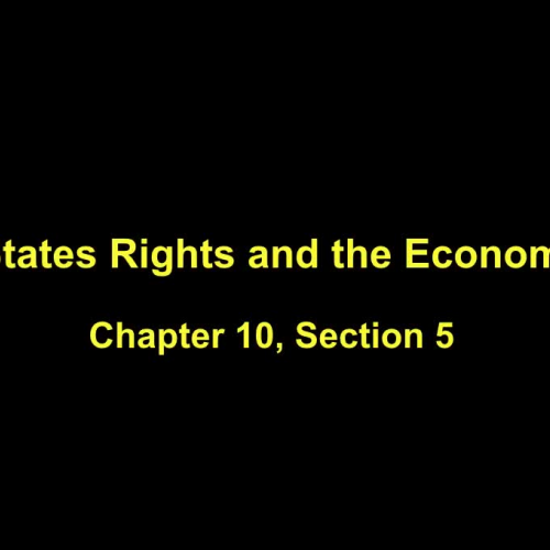 Lecture Notes Chapter 10 Section 5