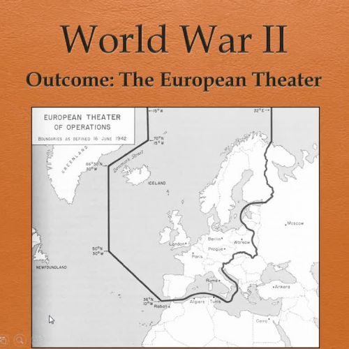 WWII European Theater Lecture Part 1