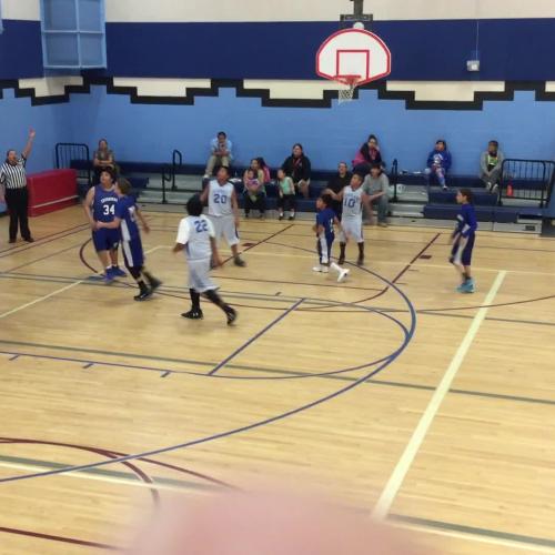 Loneman boys' basketball March 9 vs Red Cloud