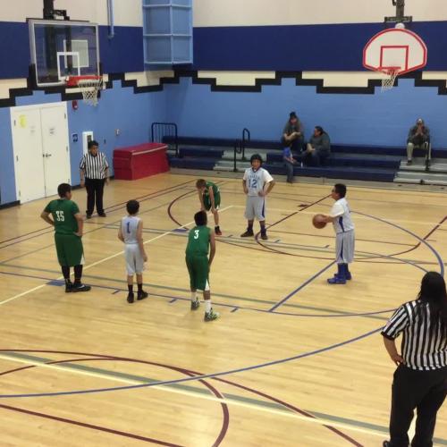 Boys' basketball Feb 22 vs Porcupine