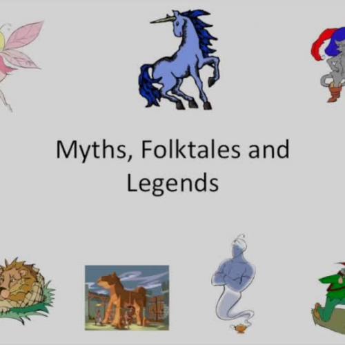 Myths, Legends and Folktales