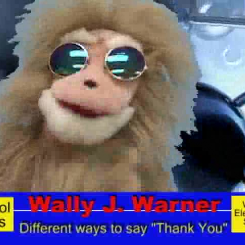 "Wally J. Warner Part One  - Different ways to say ""Thank You"""