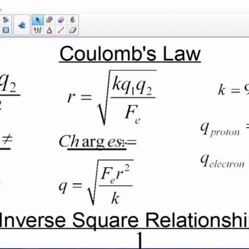 02 Coulomb's Law Example Video
