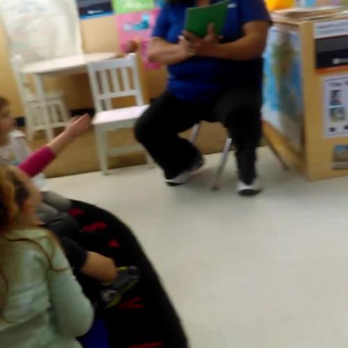 Reading lesson video clip 2