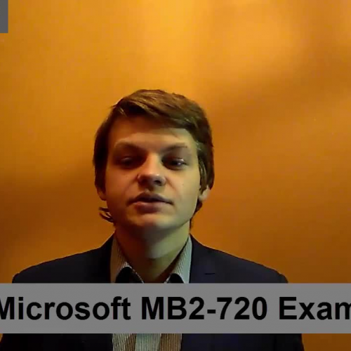 MB2-720 – Practice Exam Test Questions Microsoft