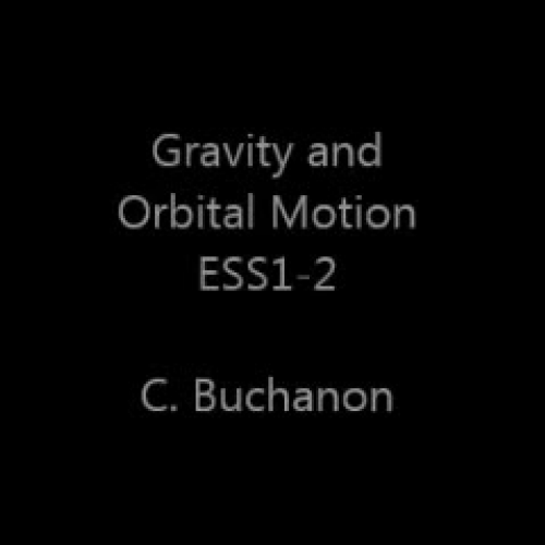 Gravity and Orbital Motion
