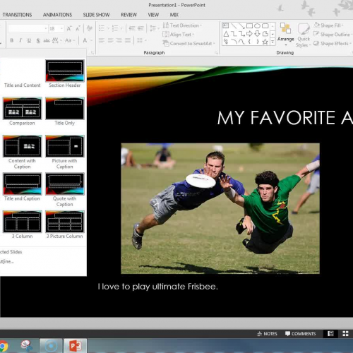 """How to Create Your """"A Few of My Favorite Things"""" PowerPoint Presentation"""