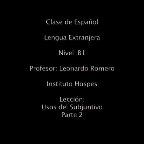 Clase de Español LE