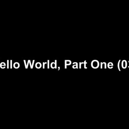 Tibbo BASIC Lesson 3 - Hello World