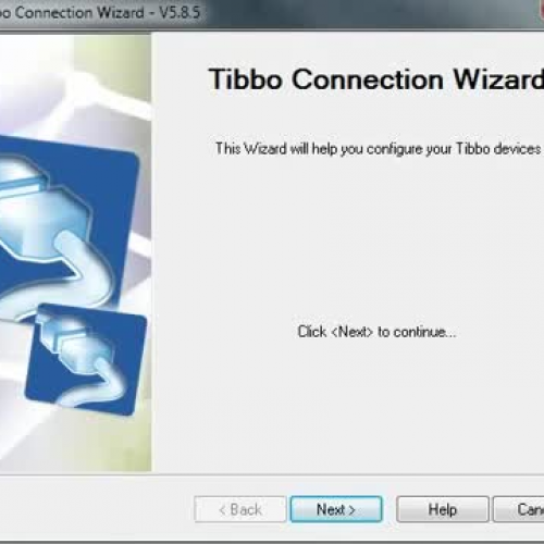 Tibbo Connection Wizard demo-tutorial