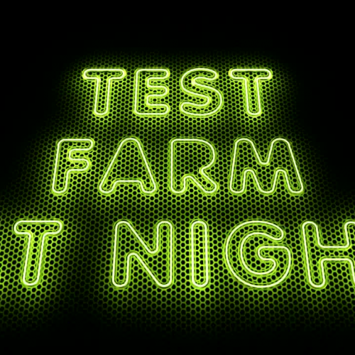 Test Farm at Night