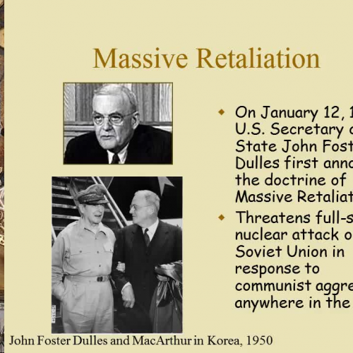 COLD WAR LECTURE #2