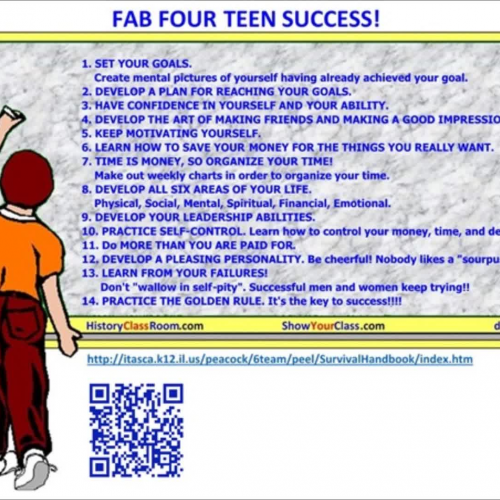 Fab Four Teen Success!