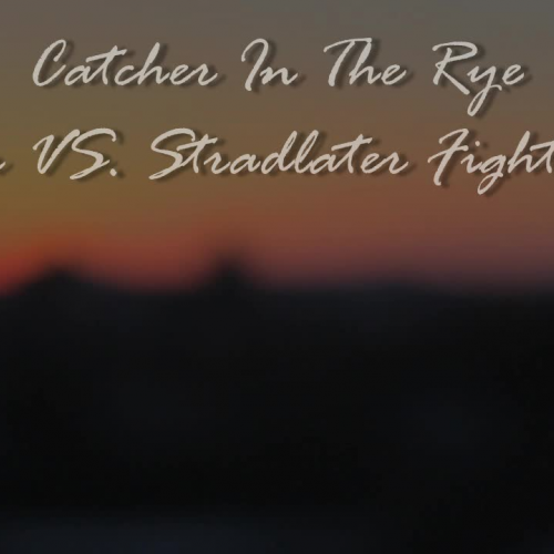 Catcher in the Rye FIGHT SCENE