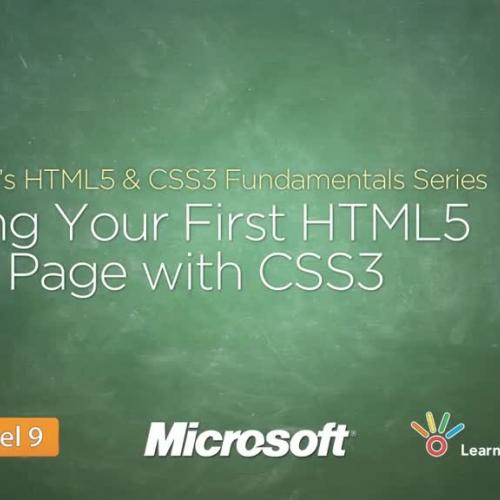 Styling Your First HTML5 Web Page with CSS3
