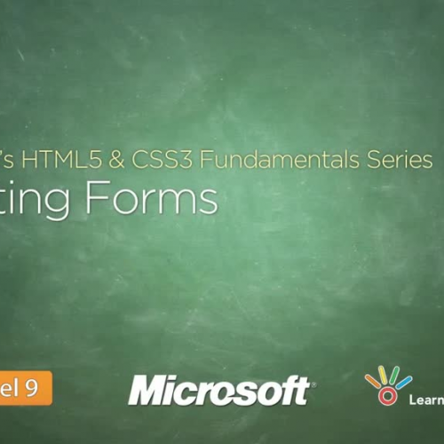 HTML and CSS3 Creating Forms