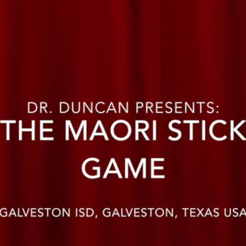 Maori Stick Game (Lummi Stick Game)