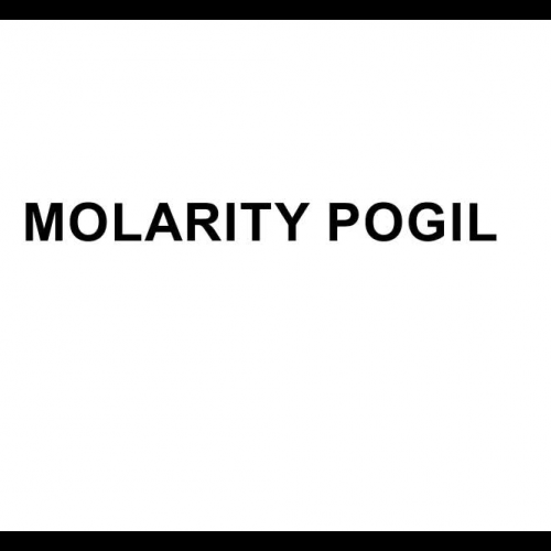 Molarity POGIL Review