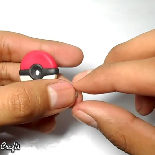 Pokemon GO logo Polymer Clay Tutorial -  Porcelana Fria