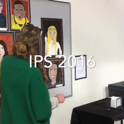 "Archibald Prize - Foundation Class demonstrating ""Peoples Choice Voting"""