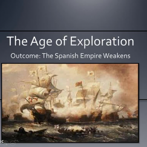Spanish Empire Weakens Lecture