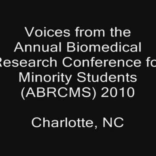 Perspectives from the Annual Biomedical Research Conference for Minority Students 10th Anniversary