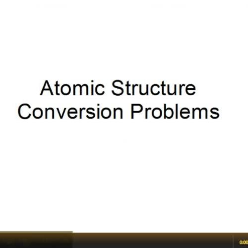 Mole Conversion Problems