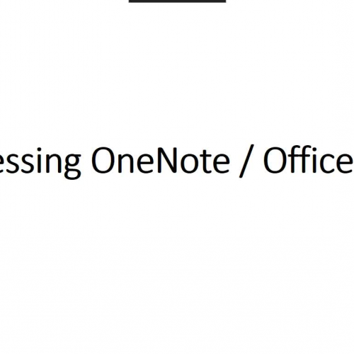 OneNote Access