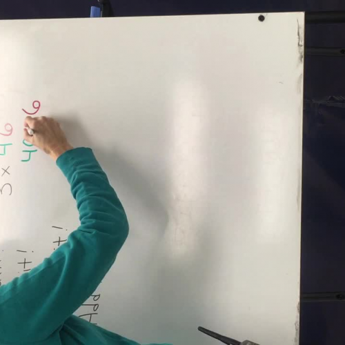 Solve multiplication with Distributive Property