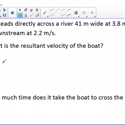 06 Boat Problem Example Video