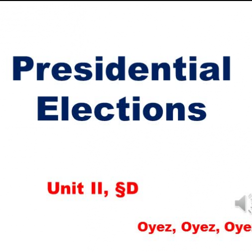 2D, Presidential Elections