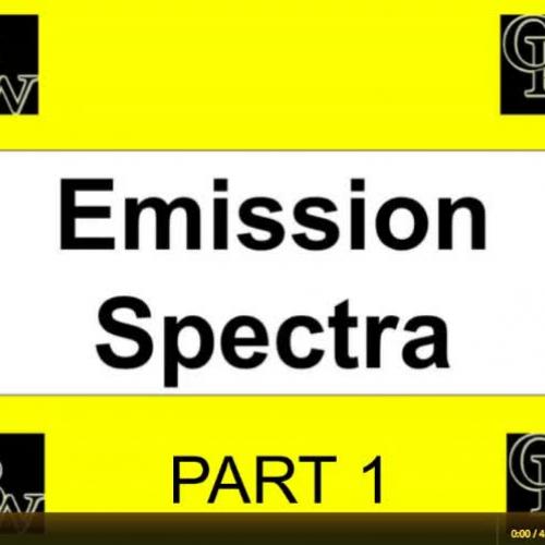 Atomic Emission Spectra Part 1