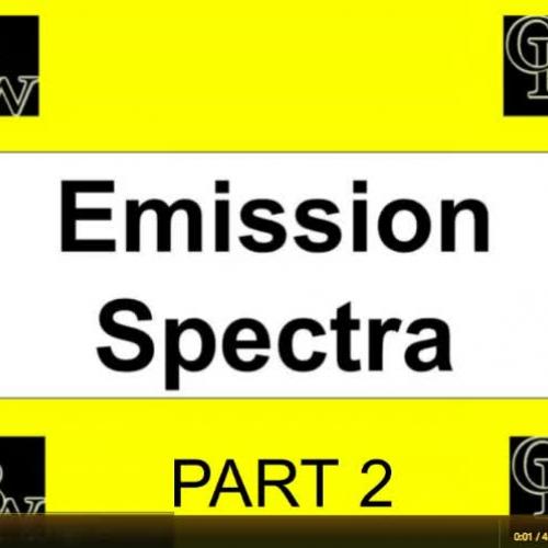 Atomic Emission Spectra Part 2