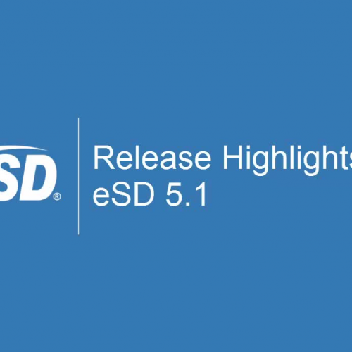 eSD 5.1 Release Overview