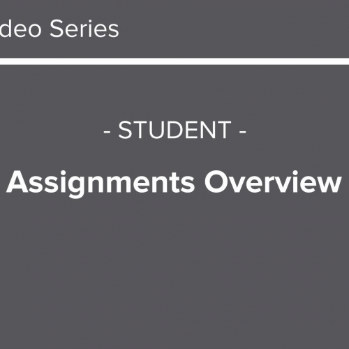 213 - Canvas Assignments Overview