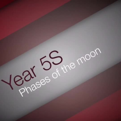 5S Phases of the moon