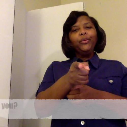 How are you? (American Sign Language)