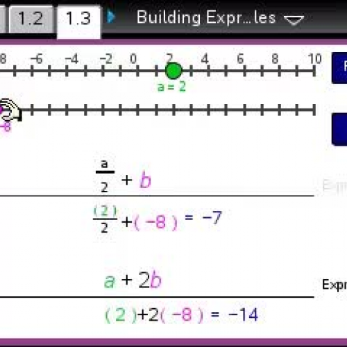 Building Expressions in Two Variables  [TI Building Concepts Preview Video]